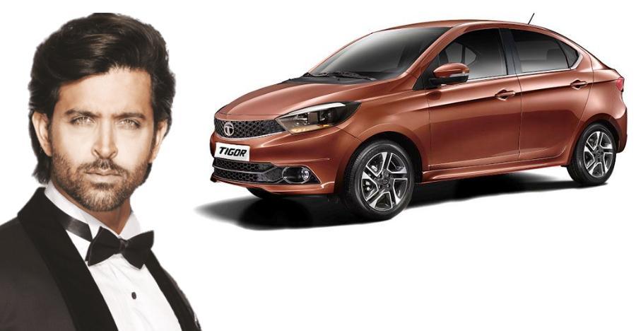Hrithik Roshan Tata Tigor Featured