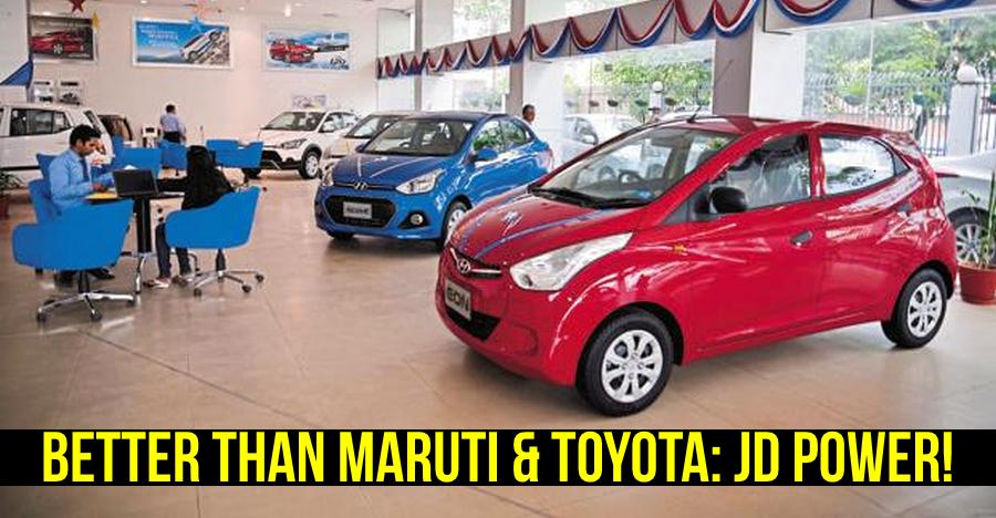Hyundai after sales service is the best: Beats Toyota & Maruti