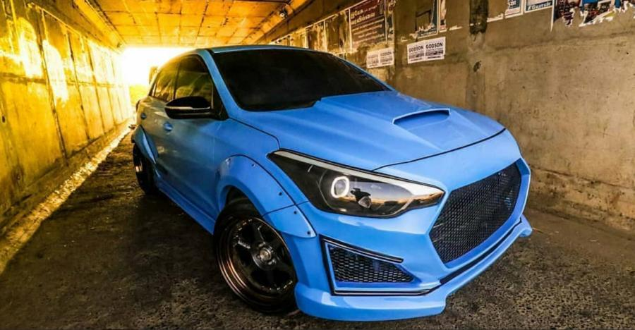 Hyundai Elite I20 Modified Featured