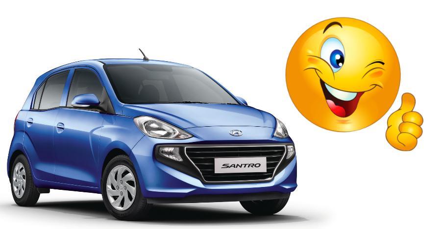 Hyundai Santro 25k Bookings Featured