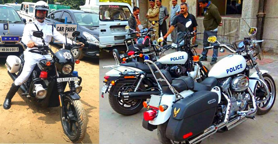 Indian Cop Bikes Featured