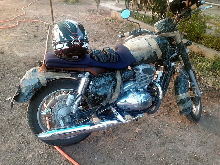 Jawa 300cc Motorcycle Spyshot 2