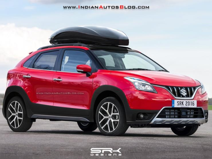 Maruti Baleno Cross Render