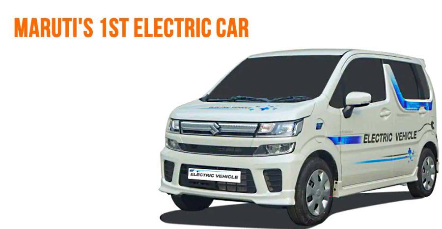 Maruti WagonR Electric: Spyshots of interiors & exteriors