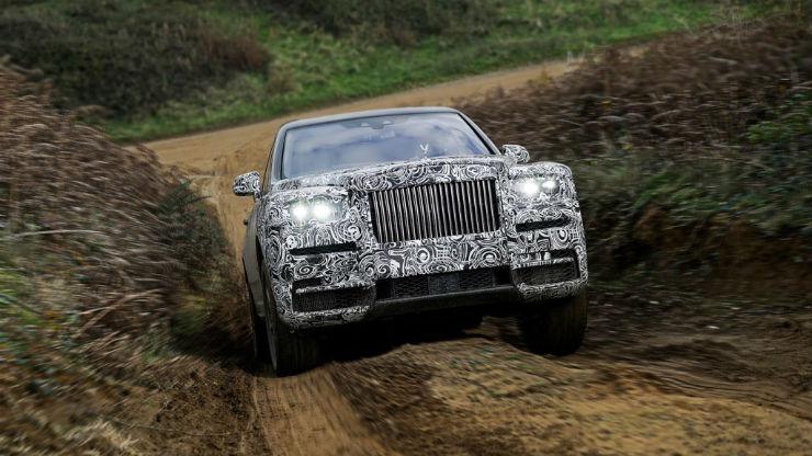 Rolls Royce Off Road