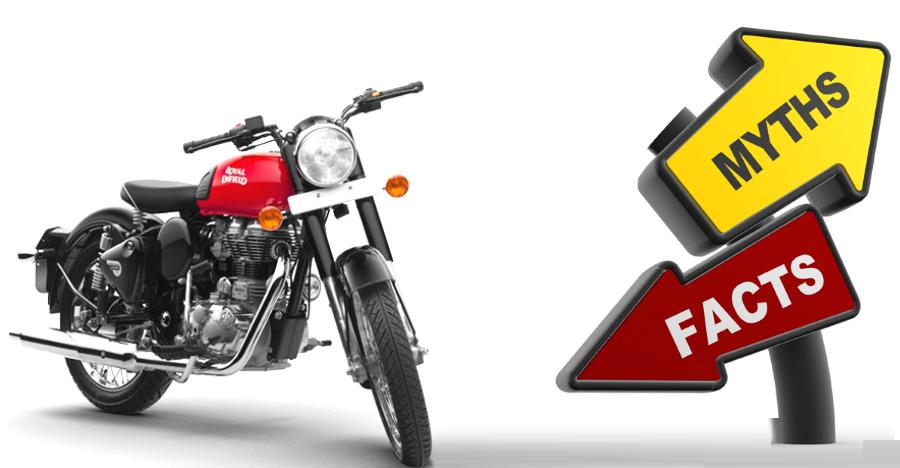 Royal Enfield Myths Vs Facts Featured
