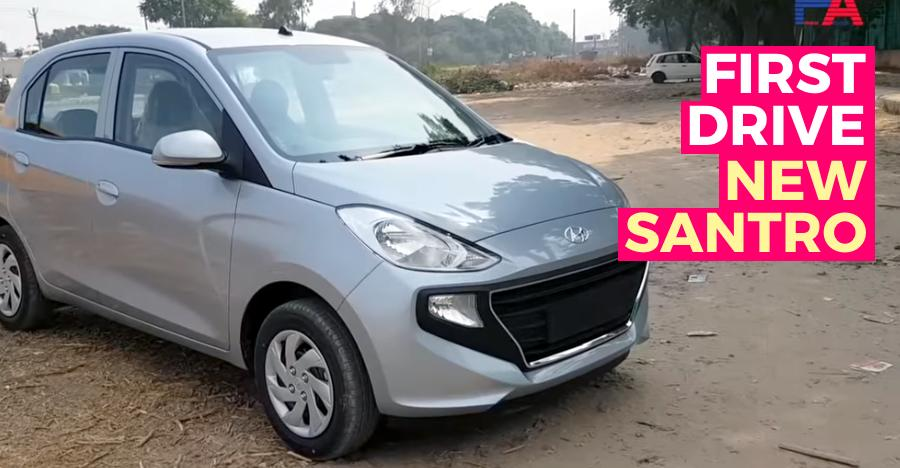 Santro First Drive Review Featured