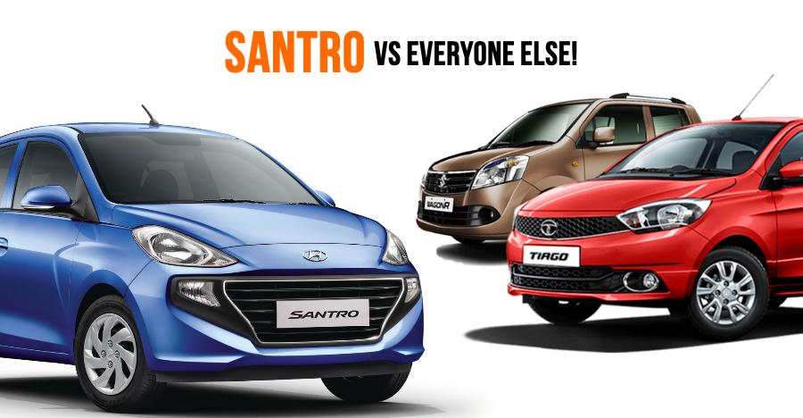 Santro Vs Others Featured