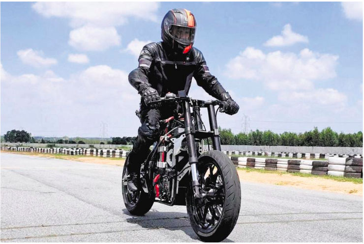22f439a5936 TVS Motors promoted electric bike will be faster than the KTM Duke 200!