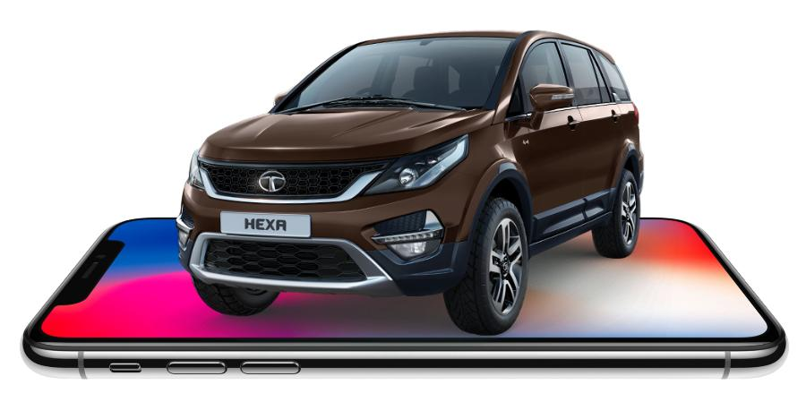 Tata Hexa Iphone X Featured