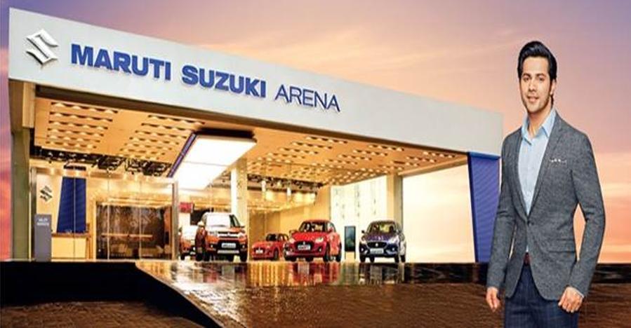 Varun Dhawan Maruti Suzuki Arena Featured