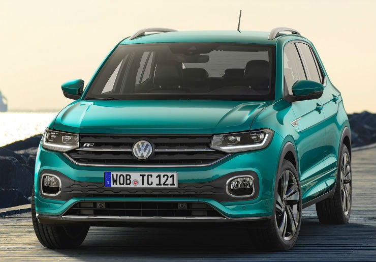 Volkswagen T-Cross Revealed, India Bound