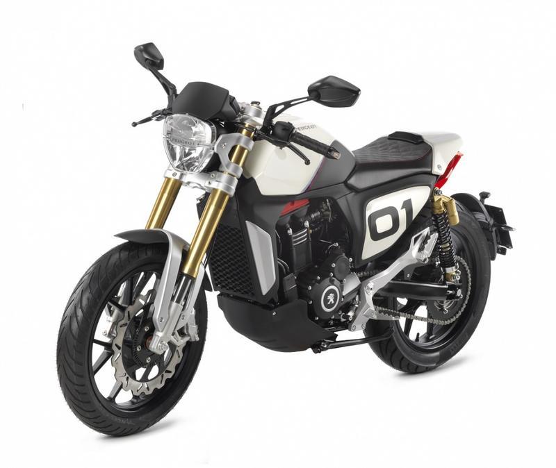 Concepts Bikes Peugeot P2x 300 Cafe Racer Hd
