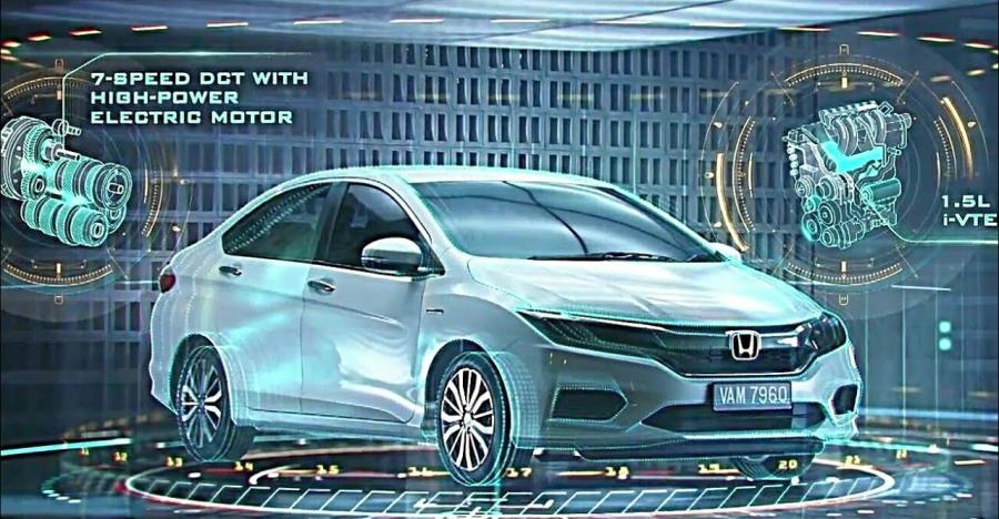 Honda City Hybrid Featured