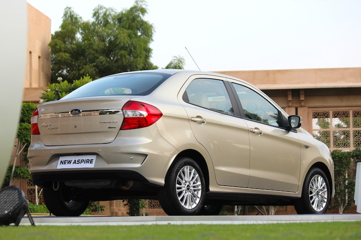 New Ford Aspire 4