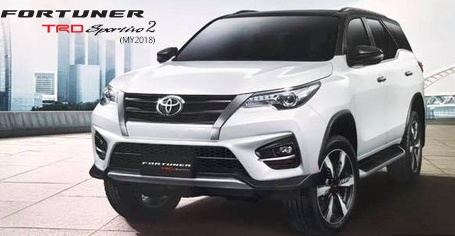 2018 Toyota Fortuner Trd Featured