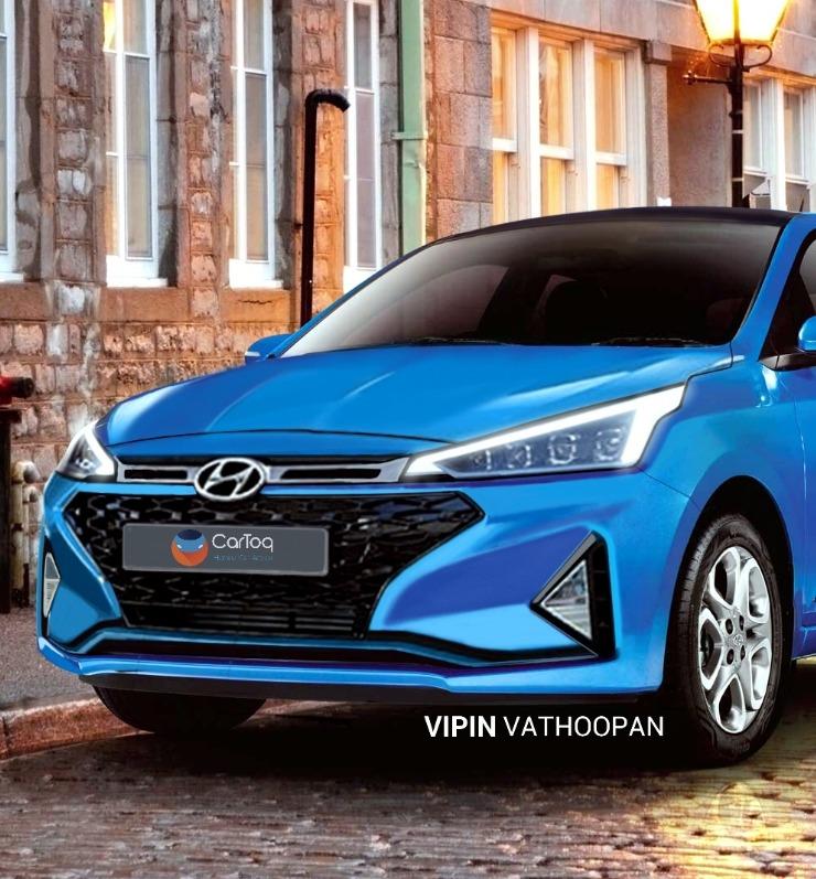 2019 Hyundai Elite I20 Render 1
