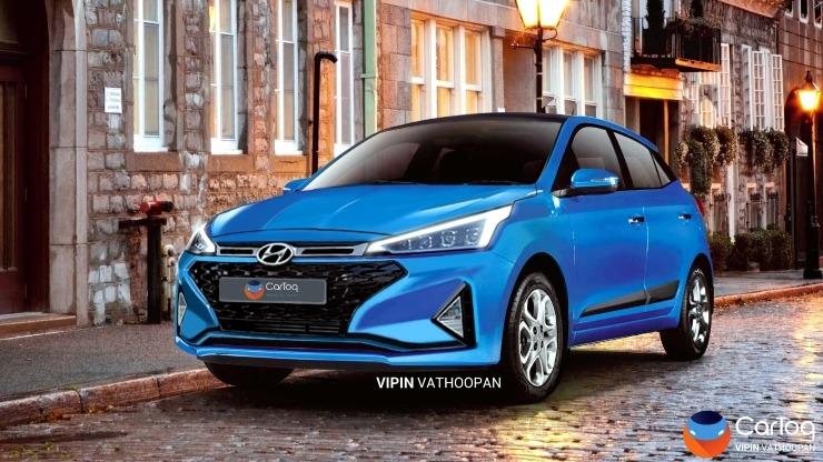 2019 Hyundai Elite I20 Render 2