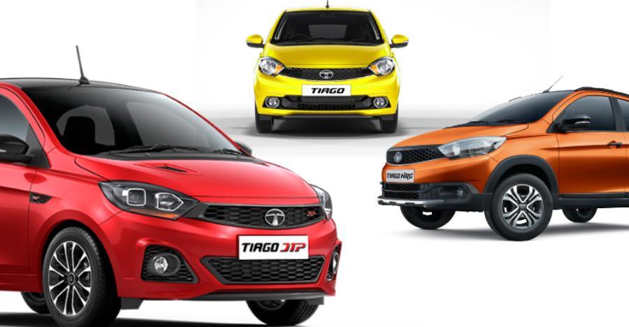 5 Types Of Tata Tiago Featured