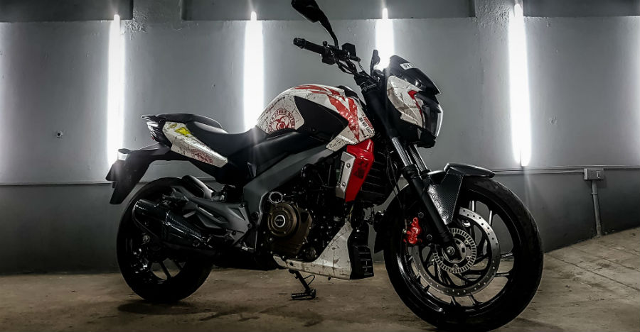 Bajaj Dominar Zombie Edition Featured