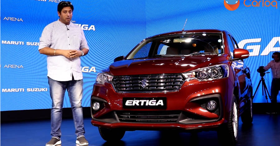 All-new 2018 Maruti Suzuki Ertiga in Cartoq's walkaround video