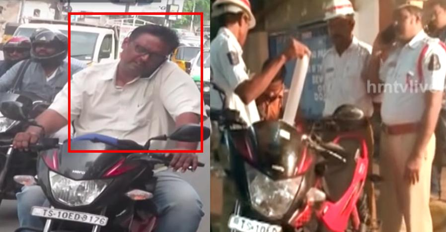 Hyderabad man breaks record with 135 traffic offences: Bike SEIZED [Video]