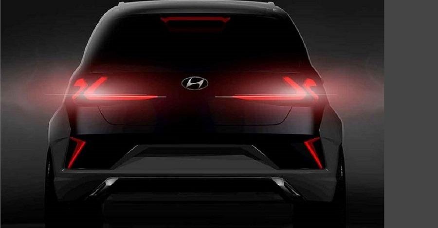 Hyundai Saga Suv Concept Teaser Rear