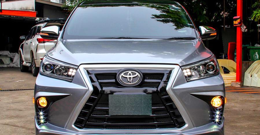 5 modified Toyota Innova MPVs from around India