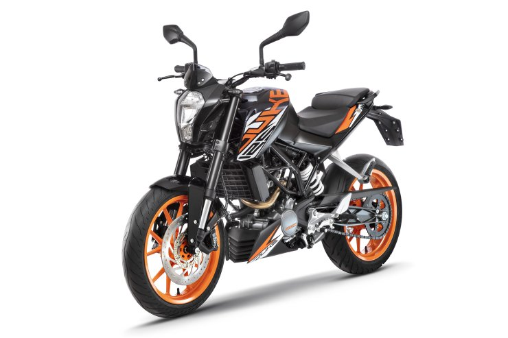 Ktm 125 Duke Abs Black