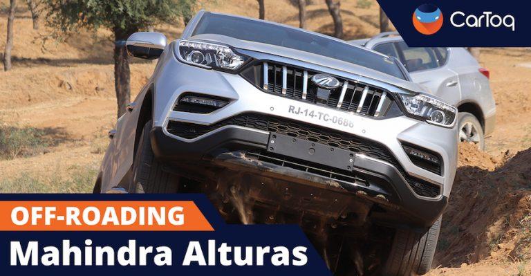 Mahindra Alturas Off Roading Thumbnail 1