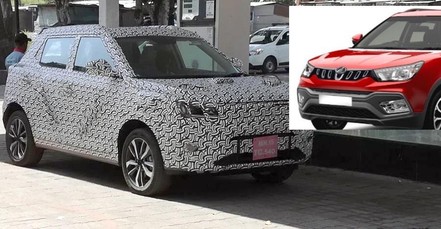 Maruti Brezza-rivaling Mahindra S201 compact SUV nearly production ready: New spyshots!