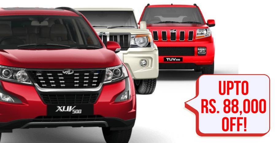 Bolero to Scorpio: Mahindra SUVs at BIG year end discounts of up to Rs. 88,500