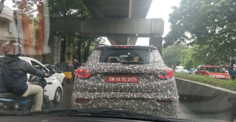 Mahindra S201 (XUV300) official name reveal on 1st December: Latest spy photos