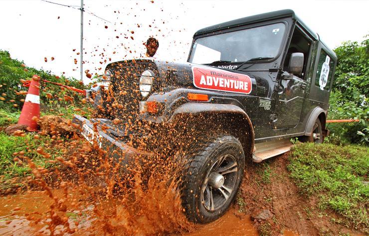 Mahindra Thar Fest Off Roading
