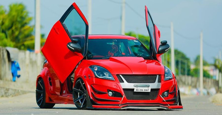 Maruti Swift Scissor Doors