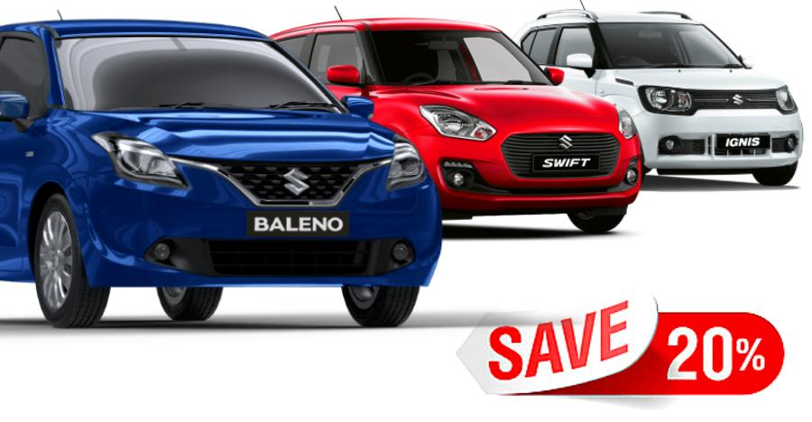 Maruti Dzire to Baleno: Year-end discounts of up to Rs 72,500 on Maruti cars