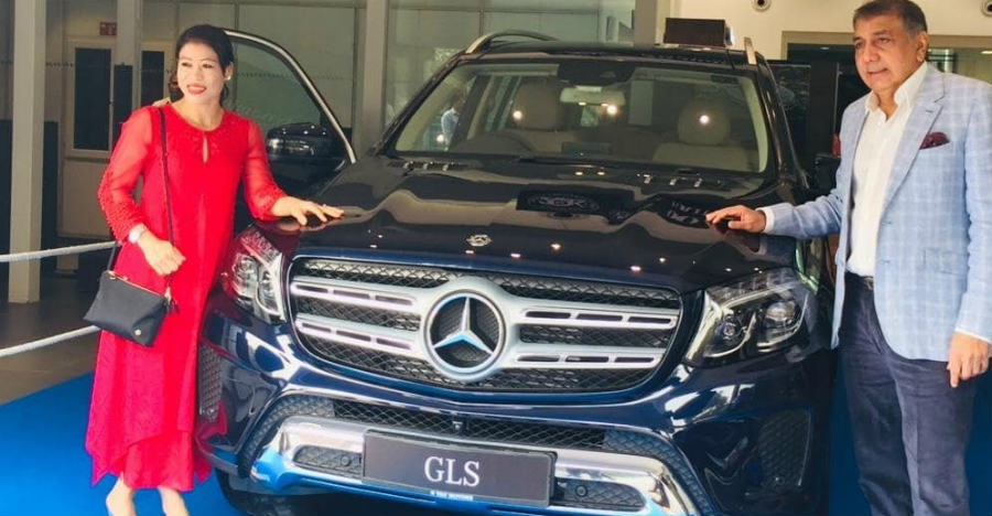 Swanky Mercedes Benz GLS SUV is champion boxer MC Mary Kom's latest ride
