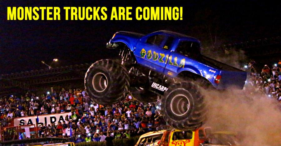 Monster Trucks are coming to India