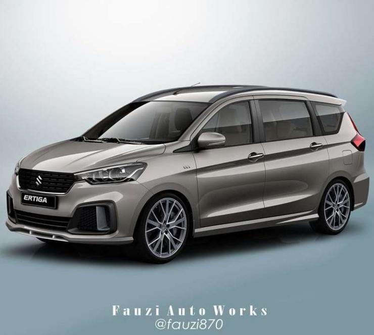 New Maruti Ertiga To Get A Sporty 6 Seat Variant Soon