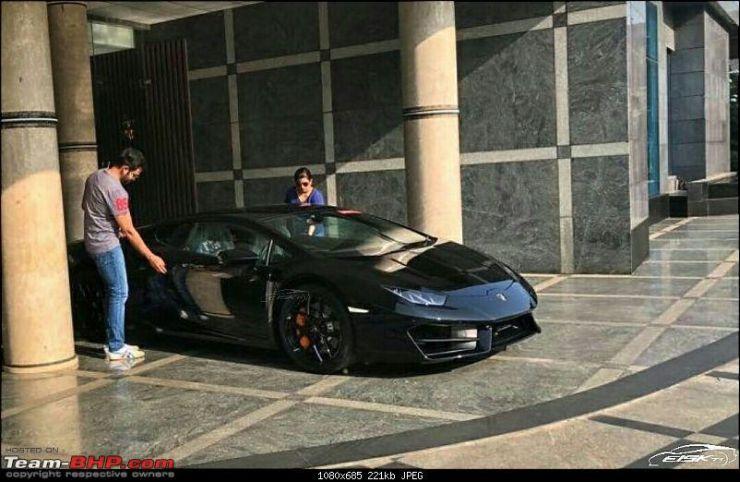 Prithviraj Sukumaran Lamborghini Huracan