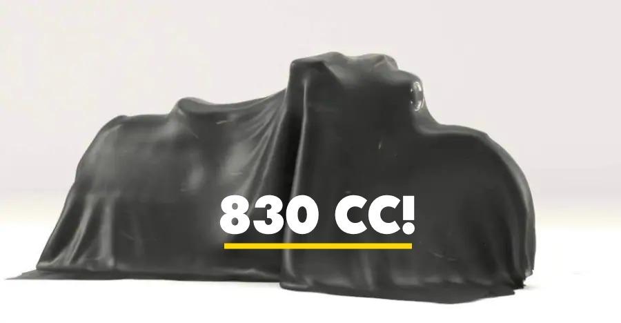 Royal Enfield Bobber 830 Teaser 1