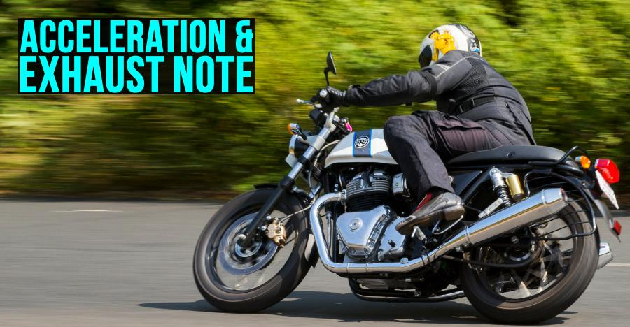 Royal Enfield Continental Gt Acceleration Featured