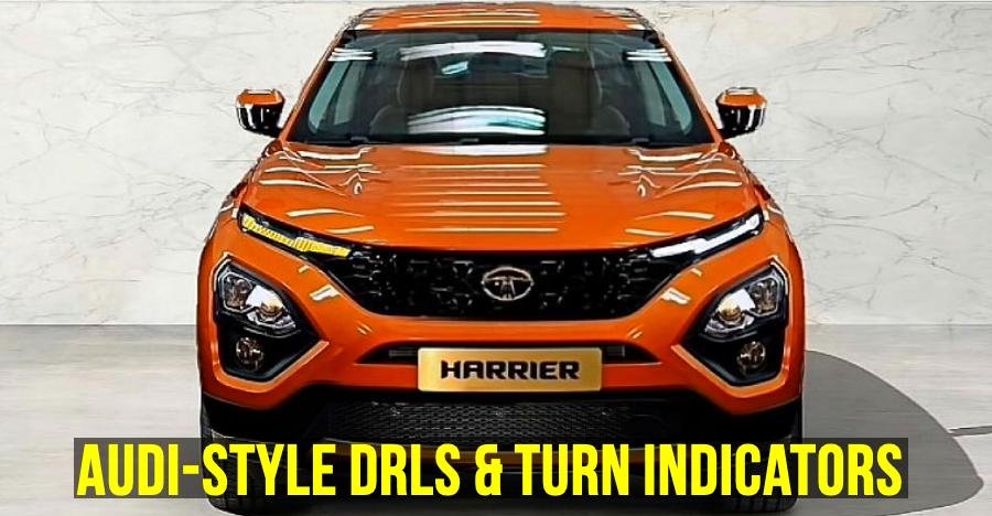 Tata Harrier to get Audi-style indicators?: Watch it in action [Video]