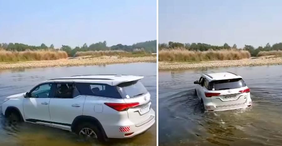 Toyota Fortuner Crossing River Featured