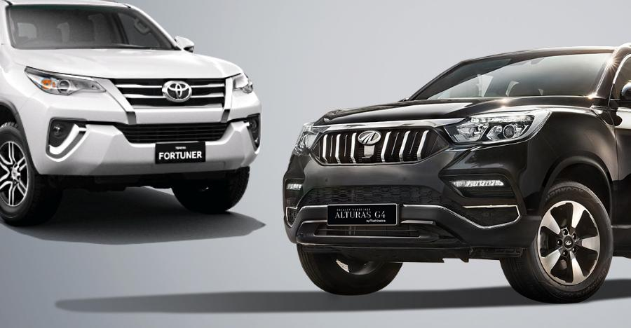Toyota Fortuner Mahindra Alturas Featured