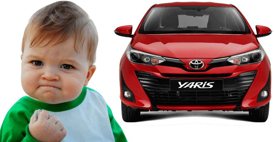 Toyota Yaris Discount Featured