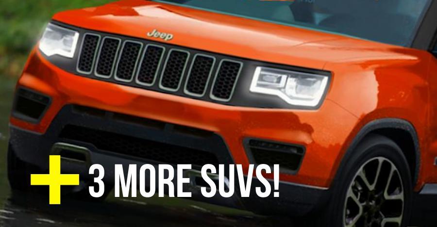 Maruti Brezza-rival to Compass TrailHawk: 4 new Jeep SUVs coming to India