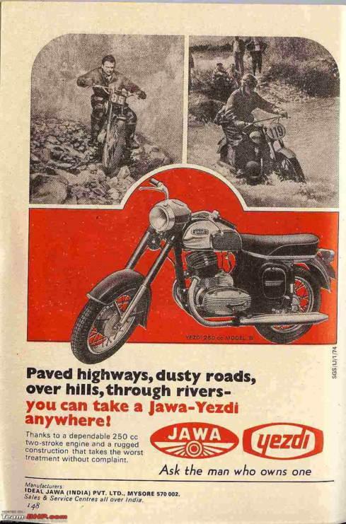 Yezdi Feb 74