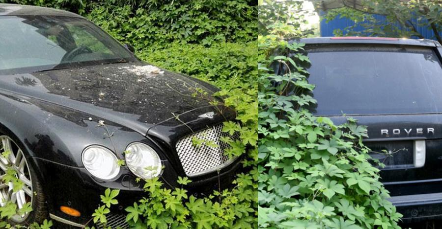 Bentley to Ferraris: Abandoned exotic cars & SUVs of China