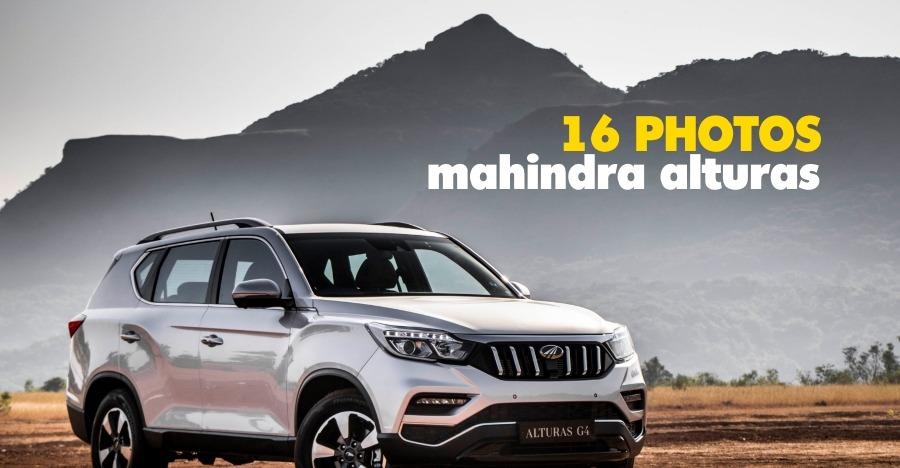 Mahindra Alturas G4 Image Gallery: 16 Photos